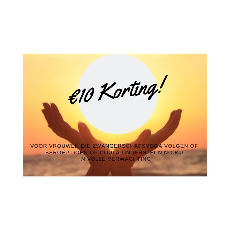 €10 Korting!